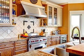 Kitchen repair, granite install and painting